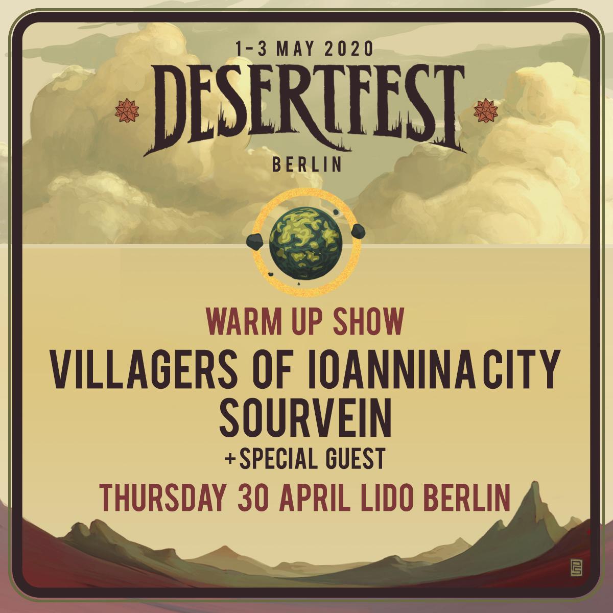 DESERTFEST BERLIN – WARM UP 2020!